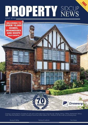 SIDCUP PROPERTY NEWS - JUNE 2016