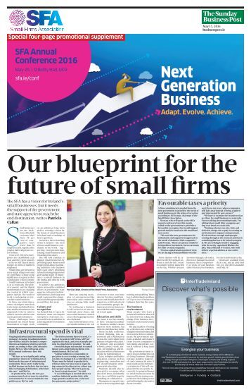 Our blueprint for the future of small firms
