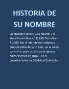 HISTORIA DE SU NOMBRE - Page 2