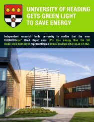 UNIVERSITY OF READING GETS GREEN LIGHT TO SAVE ENERGY
