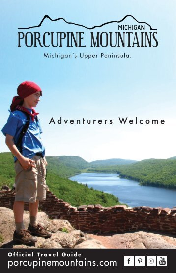 Porcupine Mountains Visitor Guide - 2016