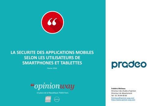 SELON LES UTILISATEURS DE SMARTPHONES ET TABLETTES