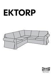 Ektorp Divani E Poltrone.Ektorp Pdf 2 36mb Serie Di Divani In Tessuto Ikea