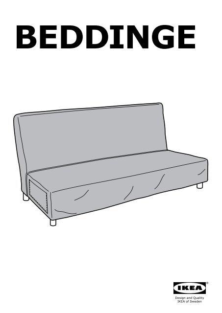Fodera Divano Letto 3 Posti.Ikea Beddinge Fodera Per Divano Letto A 3 Posti 70306417