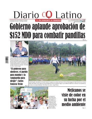 Edición 27 de Mayo de 2016