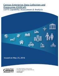 Census Enterprise Data Collection and Processing (CEDCaP)