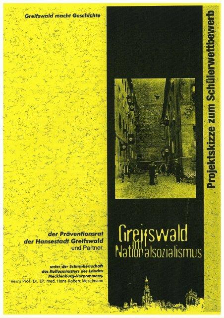 Informationen in der Projektskizze - Hansestadt Greifswald
