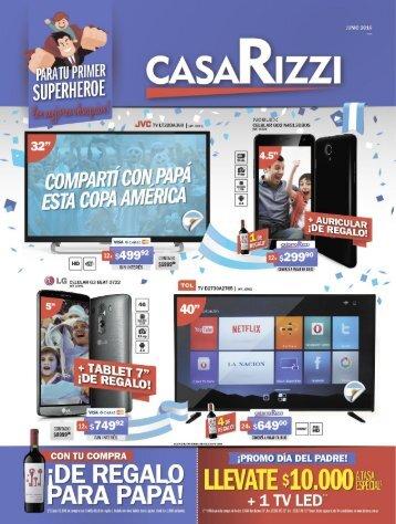 Catálogo Casa Rizzi Junio 2016