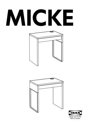 Ikea Micke Scrivania.Micke Magazines