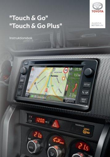 Toyota Toyota Touch & Go - PZ490-00331-*0 - Toyota Touch & Go - Touch Touch & Go Plus - Swedish - mode d'emploi