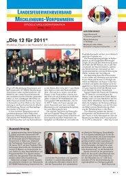 """""""Die 12 für 2011"""" - Feuerwehr"""