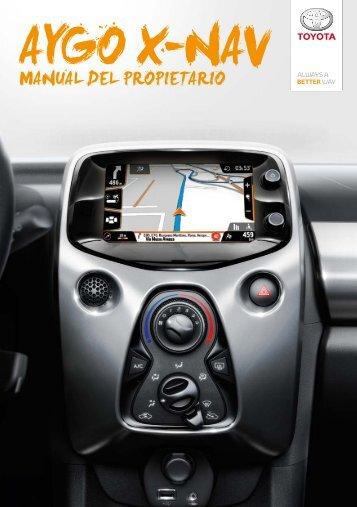 Toyota AYGO X - PZ49X-90334-ES - AYGO X-NAV (Spanish) - mode d'emploi