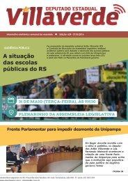 A situação das escolas públicas do RS deputados Parlamentar prejudicada