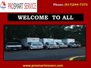 Local Moving Companies Virginia| ProSmart Movers