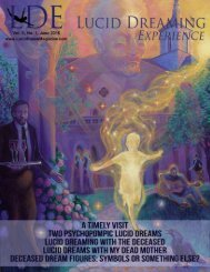 Lucid Dreaming Experience