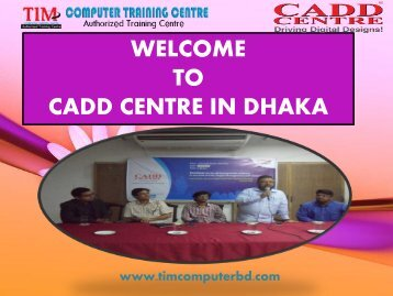 Auto CAD Training in Bangladesh| Tim Computer Training Centre