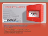Dorset Fire Alarms - Dorset Electrical Solutions