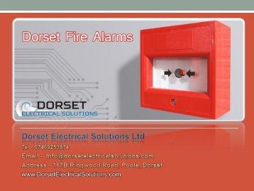 Dorset Fire Alarms - Dorset Electrical Solutions