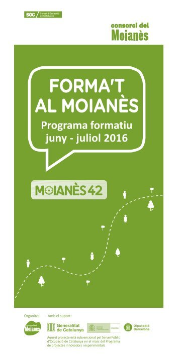 Programa formatiu juny - juliol 2016
