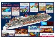 Cruise Web Presents Carnival Vista Cruise Ship [INFOGRAPHIC]