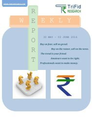 Weekly Forex Research Reports