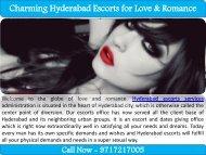 Charming Hyderabad Escorts for Love & Romance