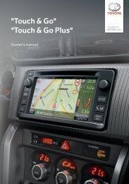 Toyota Toyota Touch & Go - PZ490-00331-*0 - Toyota Touch & Go - Toyota Touch & Go Plus - English - mode d'emploi
