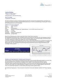 Vision & Garantie - FinanceLife Lebensversicherung AG