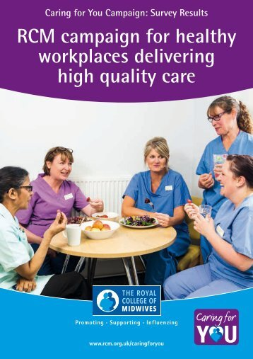 workplaces delivering high quality care