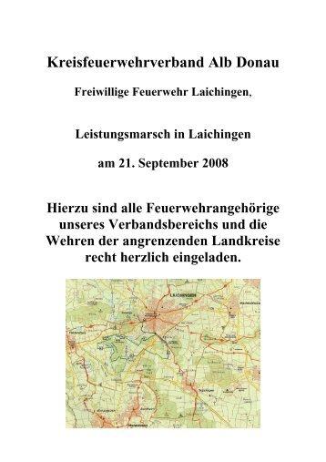 Praktische Übungen - Kreisfeuerwehrverband Alb-Donau