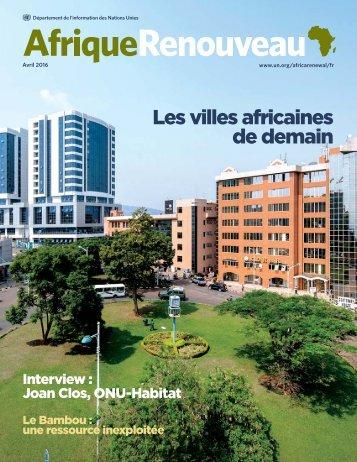 Les villes africaines de demain