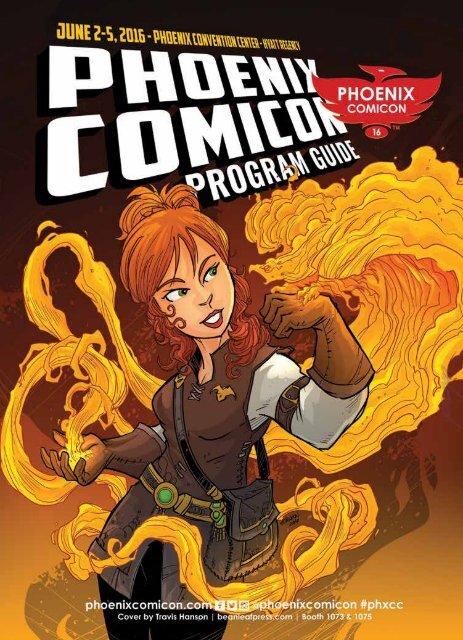 Phoenix Comicon 2016 Program Guide