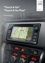 Toyota Toyota Touch & Go - PZ490-00331-*0 - Toyota Touch & Go - Toyota Touch & Go Plus - Estonian - mode d'emploi