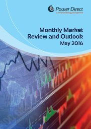 Monthly Market Review and Outlook