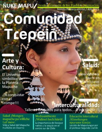 Muestra de Revista Comunidad Trepeiñ -2015