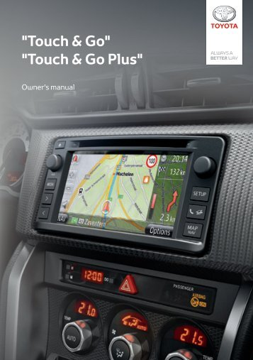 Toyota Toyota Touch & Go - PZ490-00331-*0 - Toyota Touch & Go - Toyota Touch & Go Plus - English - mode d'emploi