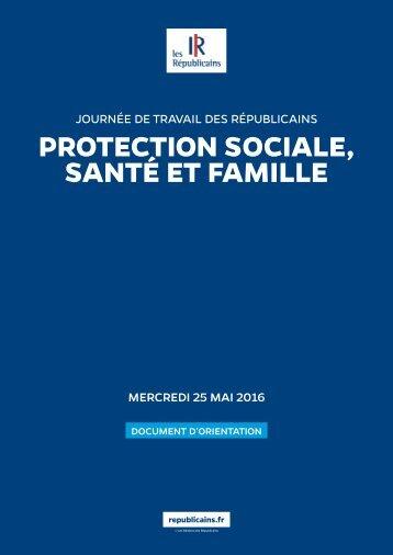 PROTECTION SOCIALE SANTÉ ET FAMILLE