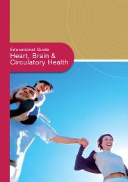 Heart Brain & Circulatory Health