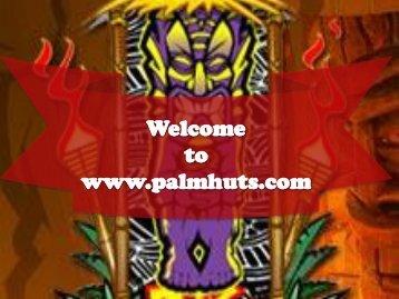 Gorgeous Tiki Huts and Tiki Bars in Florida