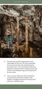 Caving Guidelines - Page 3