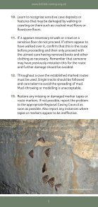 Caving Guidelines - Page 5