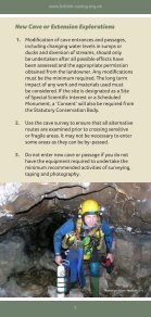 Caving Guidelines - Page 7