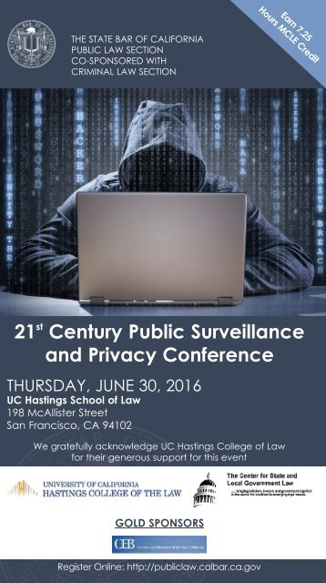 21 Century Public Surveillance and Privacy Conference