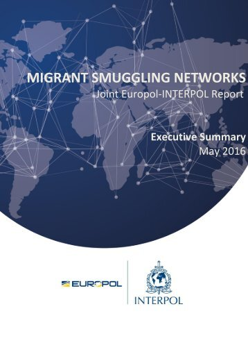 MIGRANT SMUGGLING NETWORKS