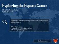 Exploring the Esports Gamer