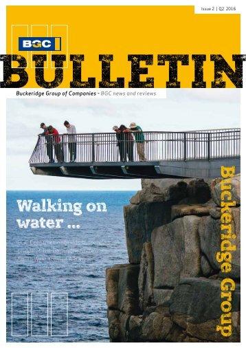 BGC BULLETIN | Issue 2 | Q2 2016