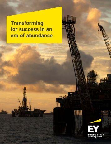 Transforming for success in an era of abundance