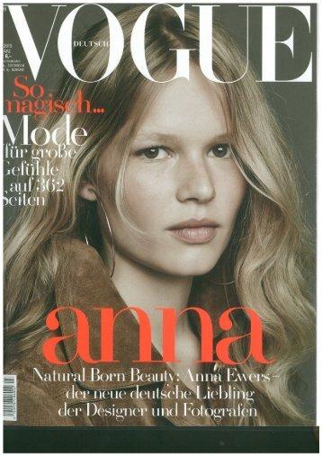 Vogue Marz 2015