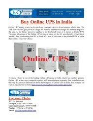 Buy Online UPS in India