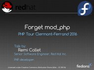 Forget mod_php